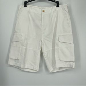 Polo Ralph Lauren white cargo relaxed fit